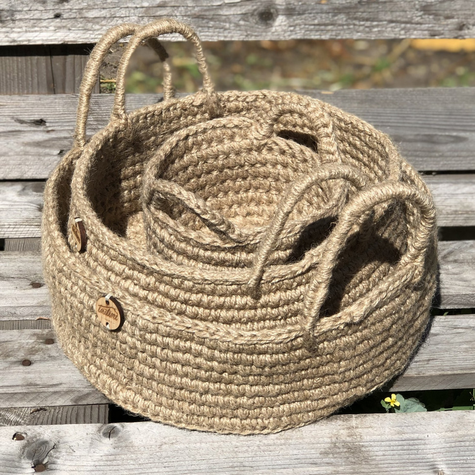 Корзина из джута Basket mini
